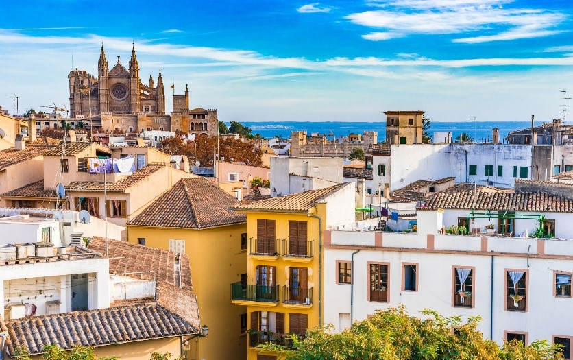 Boek vluchten vanuit Palma de Mallorca